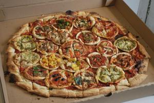 pokrojona pizza